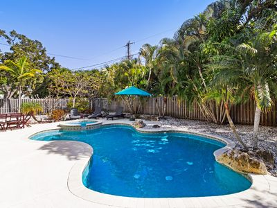 Photo for Dog-friendly home w/ private pool in quaint neighborhood