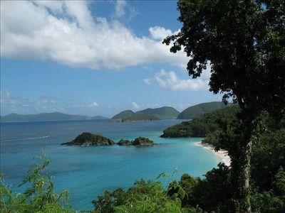 Beautiful (and world famous!) Trunk Bay