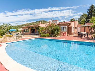Photo for Ca'n Colina, a large villa with private pool and superb views
