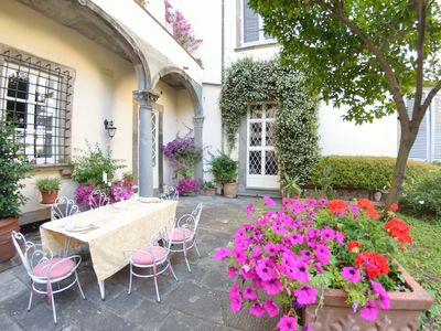 Photo for Beautiful private villa for 9 guests with WIFI, TV and patio, close to Pisa