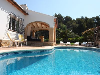 Photo for JAVEA, SUPERB CLIMATISEE VILLA, PANORAMIC VIEW, PRIVATE POOL, WIFI