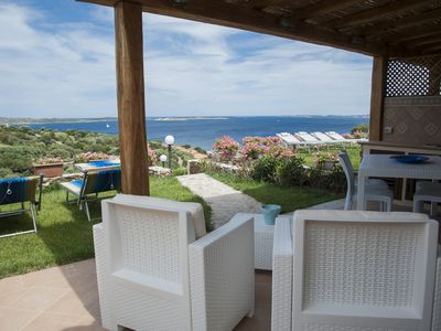 Photo for Villa with sea view in front of Caprera Island - 4 people