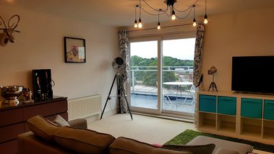 Photo for Toothbrush Apartments - 2 Bed 2 Bath Penthouse Apartment near Ipswich Waterfront
