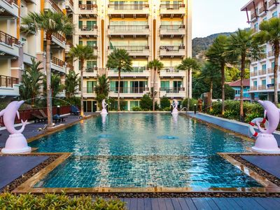 Photo for PV60 - 1 bedroom apartment in the best Patong location, with pool & gym!