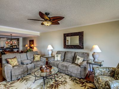 Photo for NEWLY RENOVATED Oceanfront 2 bedroom 2 bath unit in the Turtle Dunes complex