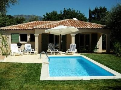 Photo for It is a charming, new villa with private swimming pool, in calm environment – great services