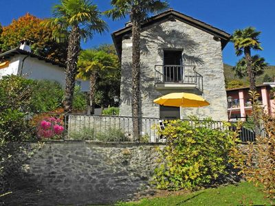 Photo for Charming Tessin-style rustico house with chimney, BBQ-grill and central heating