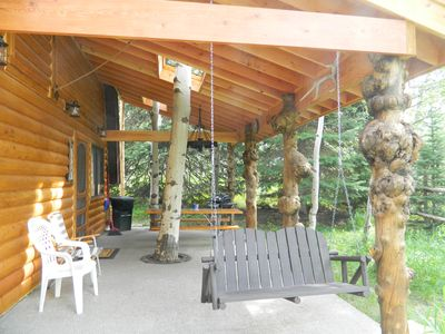 Enjoy the brand new outdoor space at Wooded Bliss Two