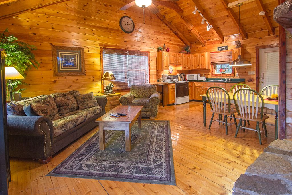 Romantic Cabin on Fishing Pond King Bed Double Fireplace Hot Tub ...