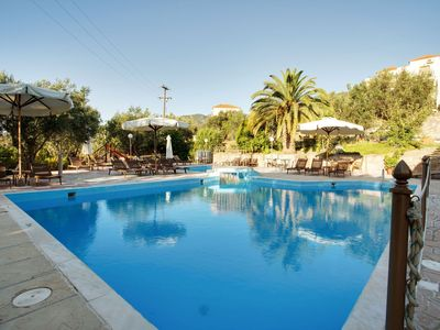 Photo for Classy Apartment in Lesvos Island with Swimming Pool