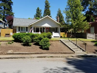 Photo for Coeur d'Alene's Famous Lakeshore Cottage close to  the beach!