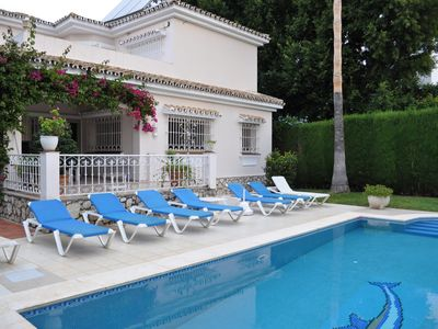 Photo for Luxury Spacious Villa with Private pool for 6 in Elviria, Marbella, with WiFi