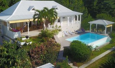 Photo for Villa l'Amazonia 5 *, luxury villa rental in Deshaies in Guadeloupe: