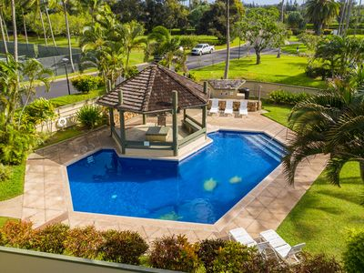 Photo for Beautiful Condo With Golf Course Views, A/C, & Pool: Kuilima Estates West #119