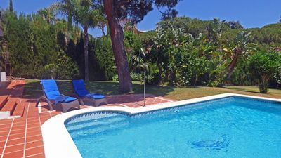 Photo for Beautifull Paradise Villa in Elviria with private heated pool