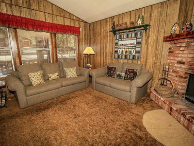 Photo for House in Big Bear Lake with Parking, Internet, Balcony (983582)