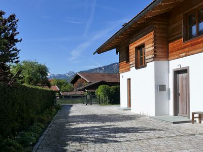 Photo for Exclusive & modern Bavarian holiday villa with luxury equipment