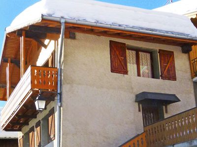 Photo for Typical Savoyard chalet 250 m from the ski lifts