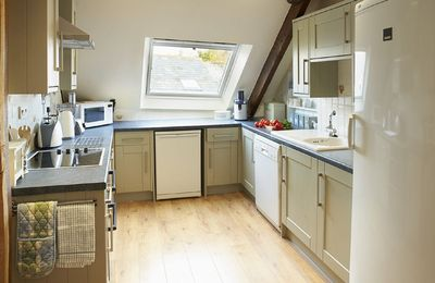 First floor:  Fully equipped kitchen