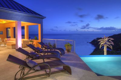 Relax while taking in the ocean views