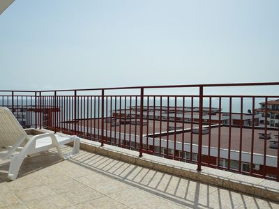 Photo for 2 Bedroom Modern Penthouse sleeping 6 - Top Floor with Lift on private complex