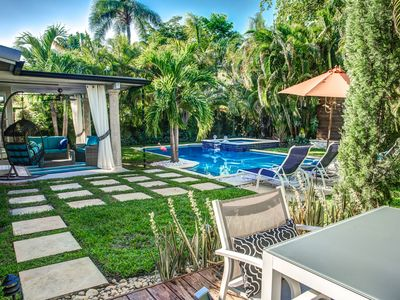 Photo for A Tropical Paradise in Wilton Manors