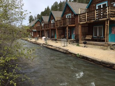 Photo for RRC4 - Riverside Cabin steps from the river!