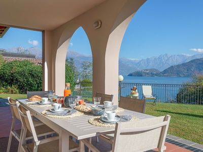 Photo for Villa Cremia is a luxury villa in exclusive location in Lake Como, with jacuzzi and sauna, 6 bedroom
