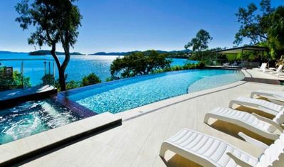 Great Pool with Water Views