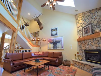 Photo for New! Magical Mtn Retreat 4B/B near Mtn. House ski lifts, Hot Tubs in the pines
