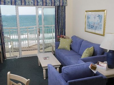 Photo for Oceanfront Baywatch 1132! 2 BR Oceanfront View and Amenities. Book now for best rate!