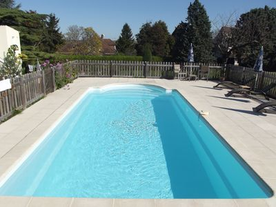 Photo for Cherry Lodge - Les Lauriers 1 Bed Apartment With Private Garden And Pool