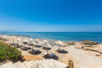 Easy access to our Private beach