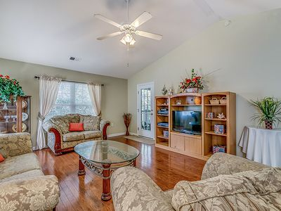 Photo for PARty of Fore is a Gorgeous Condo in True Blue- Steps from Pool
