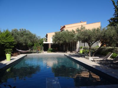 Photo for HOUSE in PROVENCE of 200 m2 WITH SWIMMING POOL IN THE VINES NEAR THE SEA.