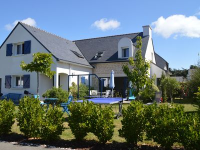 Photo for St Pierre Quiberon Bay side, new house 7 rooms 300m walk from the beach.