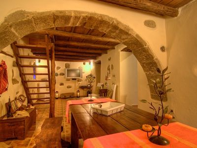 Photo for An atmospheric stone villa in South Crete sweeps you off your feet!
