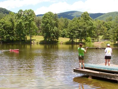 Photo for Moore's Pond Retreat: Private Hiking Trails & a Pond!