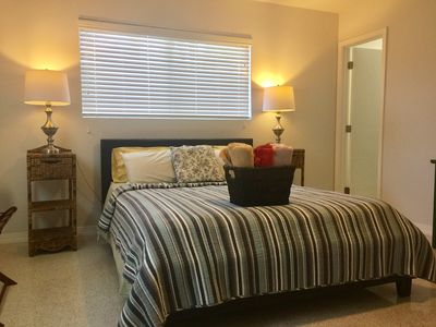Photo for Private modern studio in great location short drive to the beach and restaurants