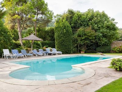 Photo for Pretty Provencal villa between Alpilles and Luberon