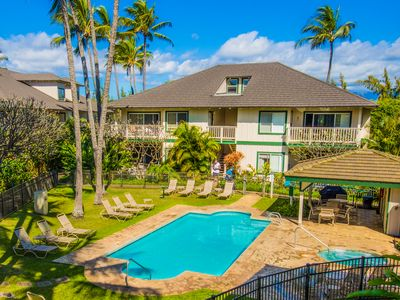 Photo for Beautiful 9 br for 20 Poipu Kai villa! Property overview