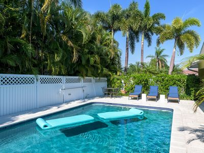 Photo for WE ARE OPEN AND RUNNING!   Baby Friendly FLL Villa 2B/2BA  4min  from the beach!