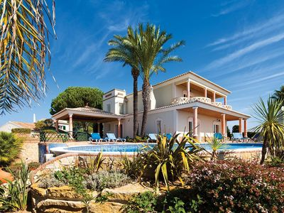 Photo for Modern 4 bedroom luxury villa, swimming pool, tennis courts, health and fitness spa!