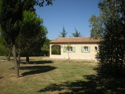 Photo for Recent and independent house close to the Medieval city and a lake