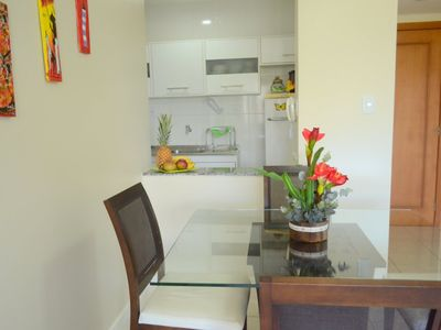 Photo for Modern fully-furnished apartment with swimming pool, gym and game room.