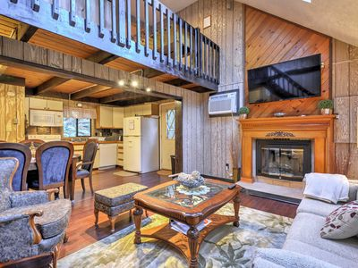 Photo for Private Lake Ariel Home w/Deck, Grill & Fire Pit!