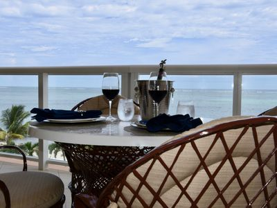 Photo for Wake up BEACHFRONT!!! NEW 2BR/2.5BA Condo. Privacy of 3rd Floor at Grand Caribe!