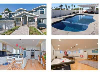 Photo for Multi-Family Perfect! Ocean Views, Pool/Spa, WALK TO BEACH, 6000 Sqft House