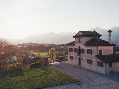Photo for Villa d'Or, historical villa in the countryside at the foot of the Dolomites Valbelluna