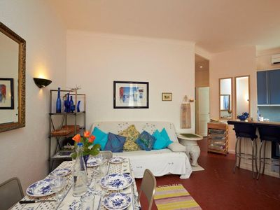 Photo for Charming, quiet, well-equipped 1 bedroom apartment in Le Suquet, close to Palais